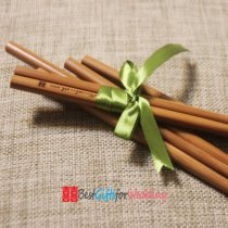 engraved bamboo chopsticks